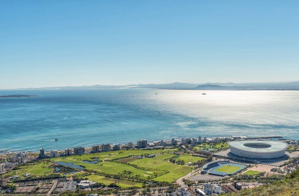 Prachtige golfbaan in Kaapstad