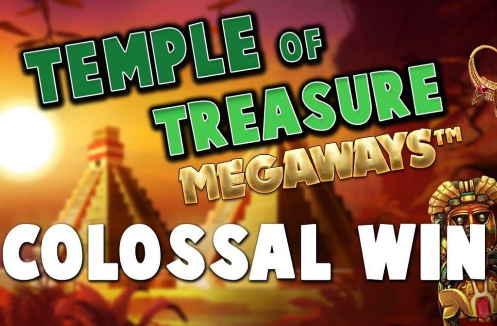 Grote prijzen zijn te winnen op Temple of Treasure Megaways