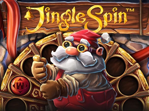 Jingle Spin logo image