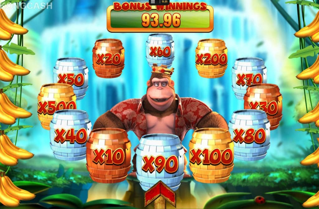 King Kong Bonusbedrag