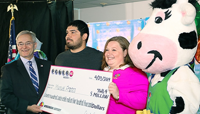 Manuel Franco is de gelukkige winnaar