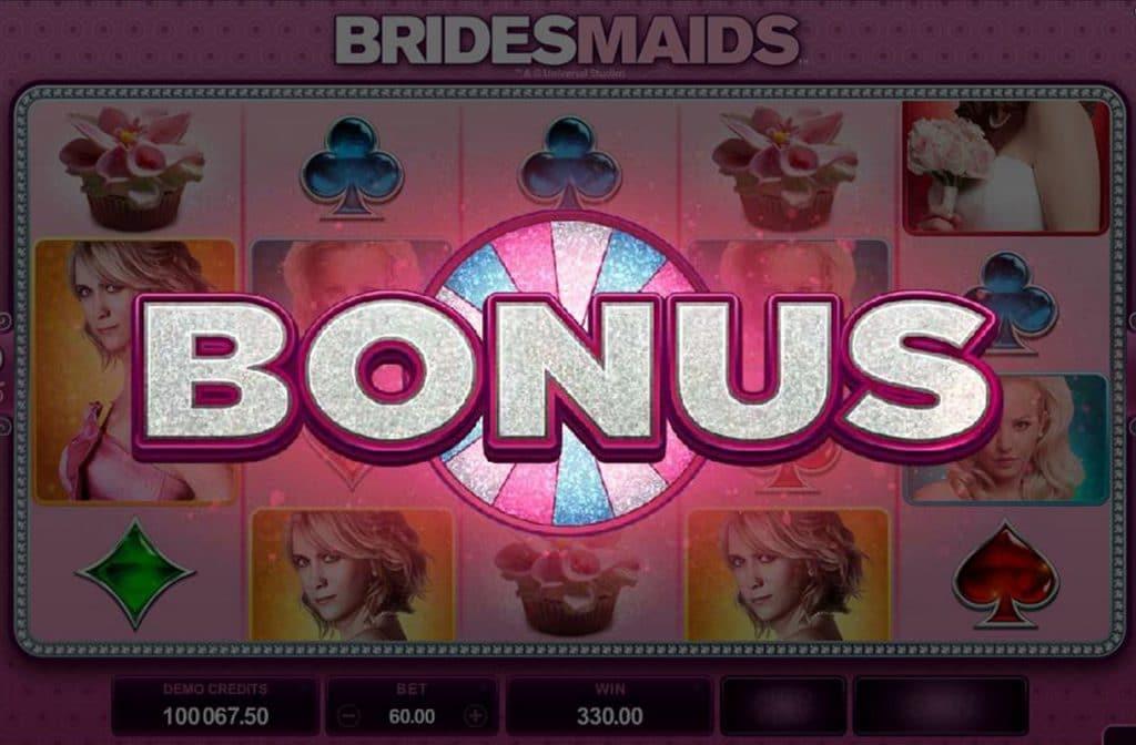 Met het bonusspel bepaalt het rad je bonus