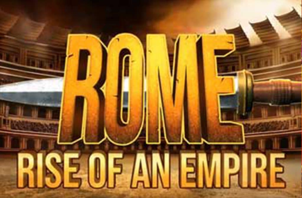 Rome staat centraal in deze gokkast