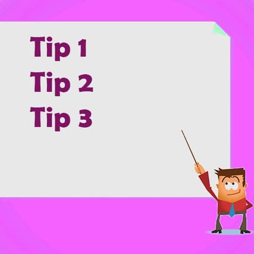 Tips online casino