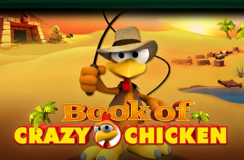 Book of Crazy Chicken van Bally Wulff heeft een maximaal SlotRank