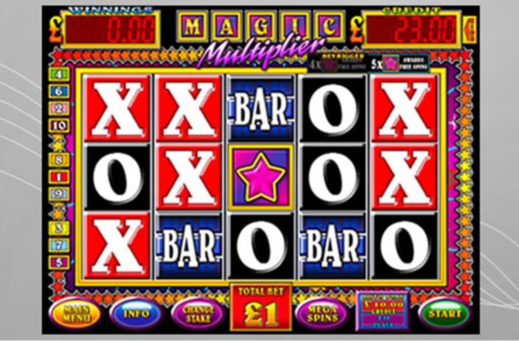 Magic Multiplier Bar-X is een leuke gokkast van Betdigital