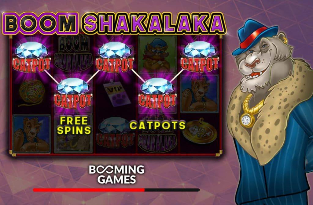 Boom Shakalaka van Booming Games