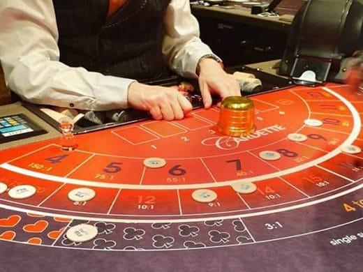 Cardette in Holland Casino