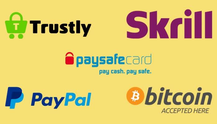 De 5 snelste betaalmethodes voor online casino's