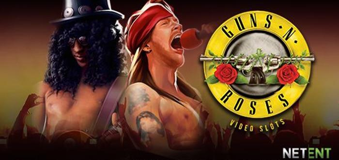 Guns N Roses is zowel als band als gokkast populair