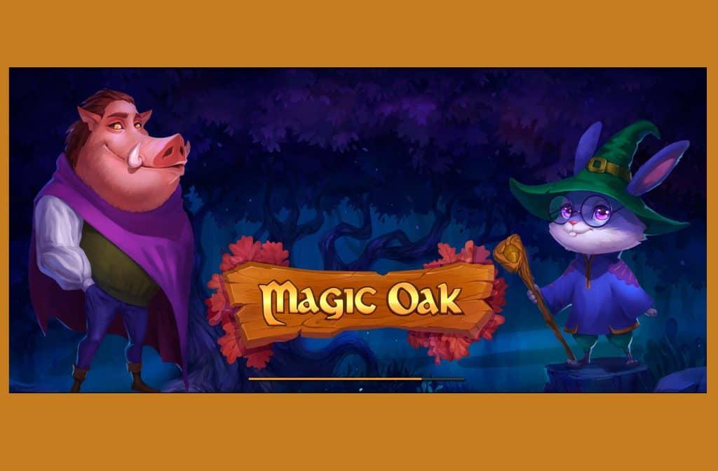 Bij het slot Magic Oak van Habanero speel je met het thema Dieren