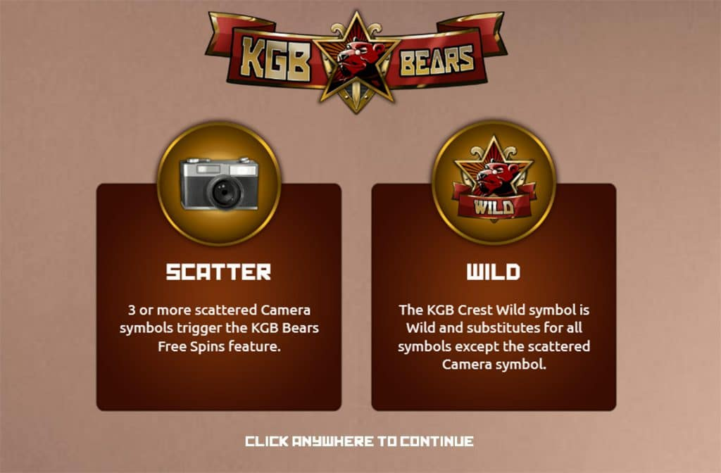 KGB Bears is een erg populaire gookkast van The Games Company
