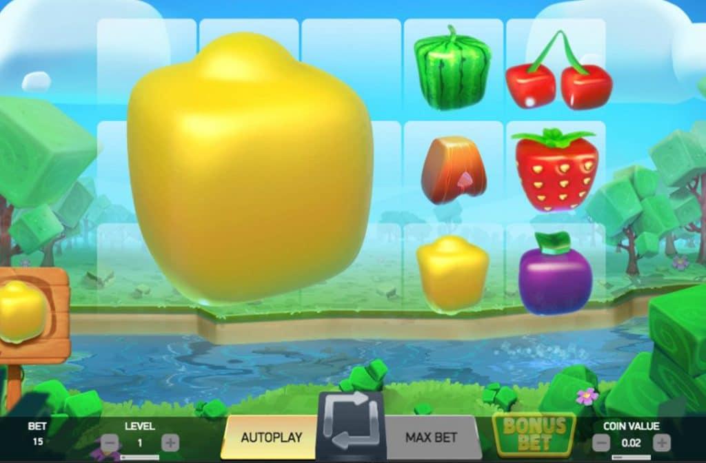 Mega fruits als bonus