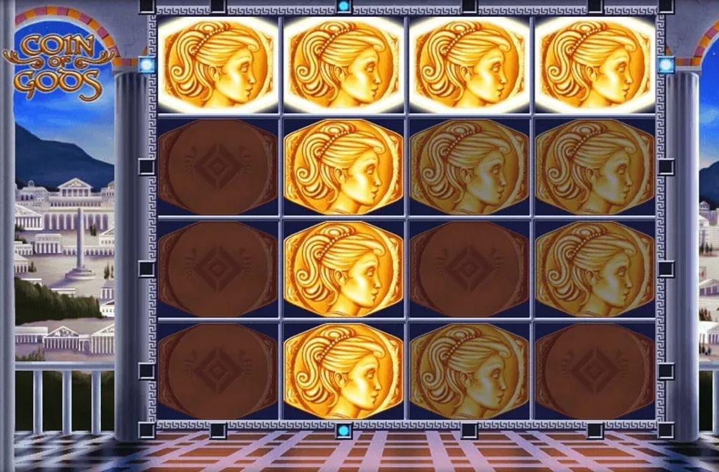 Coin of Gods is ook een spel van Edict (Merkur Gaming)