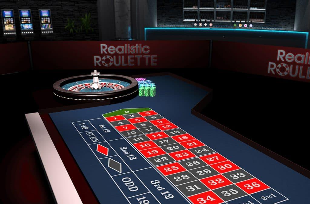 Realistic Roulette ziet er fantastisch uit