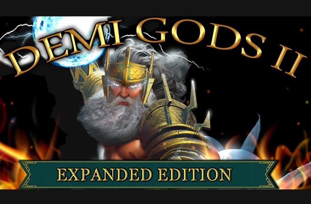 Het slot Demi Gods II heeft een Grieks thema en veel extra's, opties en features