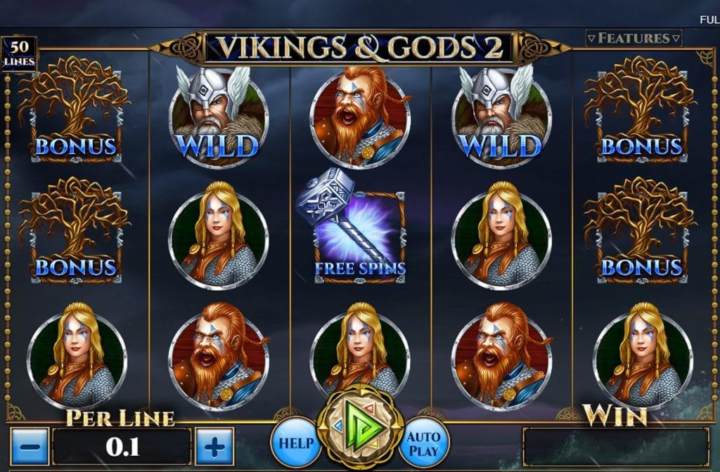 Vikings & Gods 2 van Spinomenal zal je verrassen met zijn gameplay