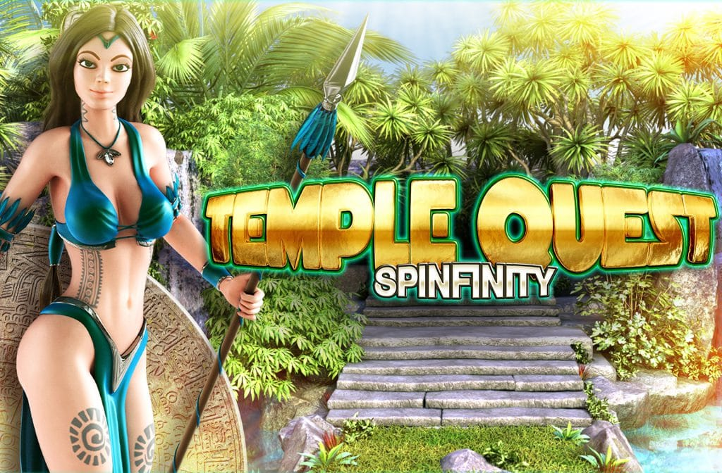 Temple Quest Spinfinity is grafisch erg mooi