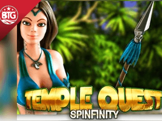Temple Quest Spinfinity logo