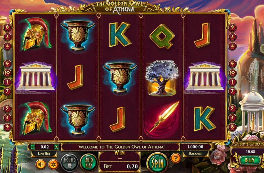 The Golden Owl of Athena Gameplay