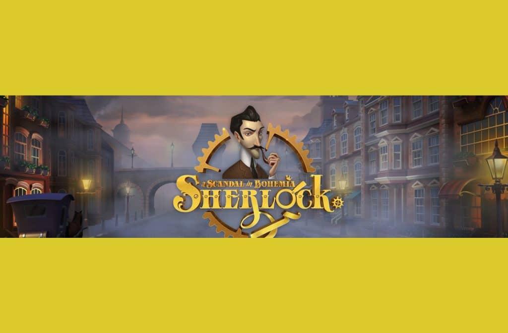 Sherlock: A Scandal in Bohemia is een herkenbaar slot met vele bonussen