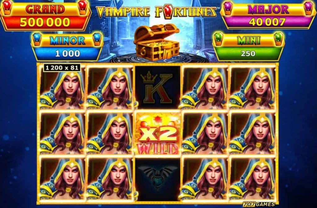 Gameplay van Vampire Fortunes