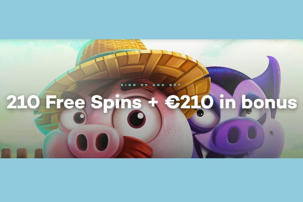 21.com Casino welkomstbonus + free spins