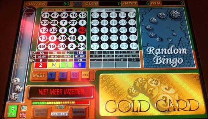 Bingo bij Holland Casino