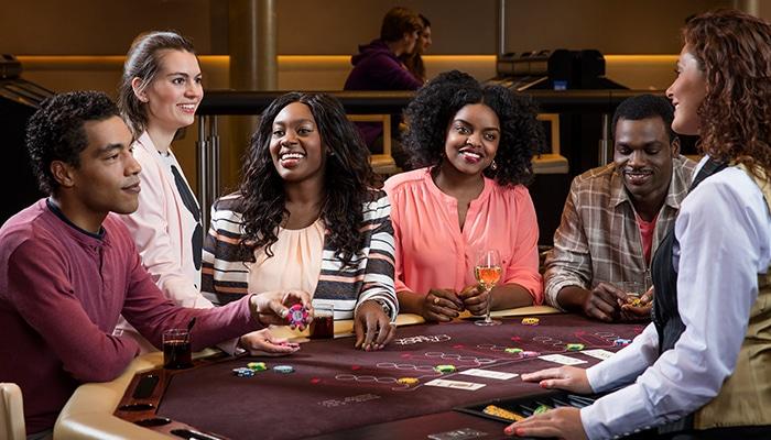 De interactie bij Holland Casino