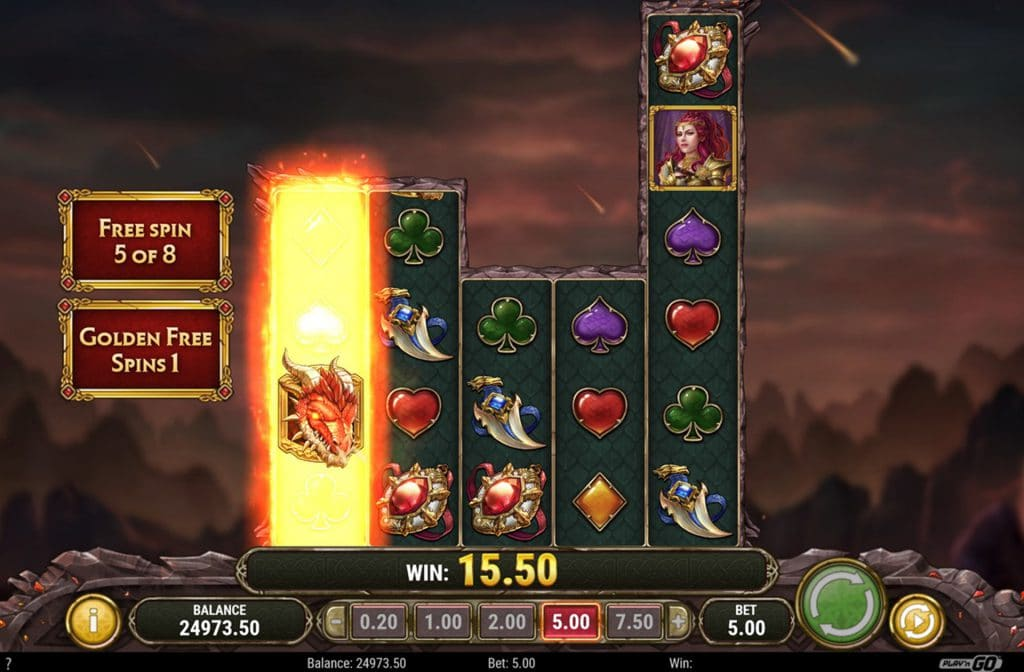 Dragon Maiden Free spins