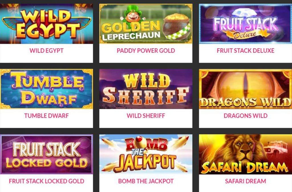 Enkele spellen van Cayetano Gaming
