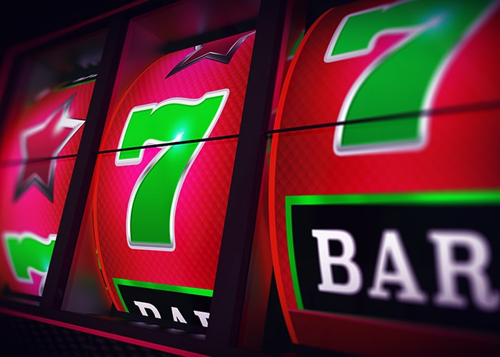 Lijnen speelautomaat