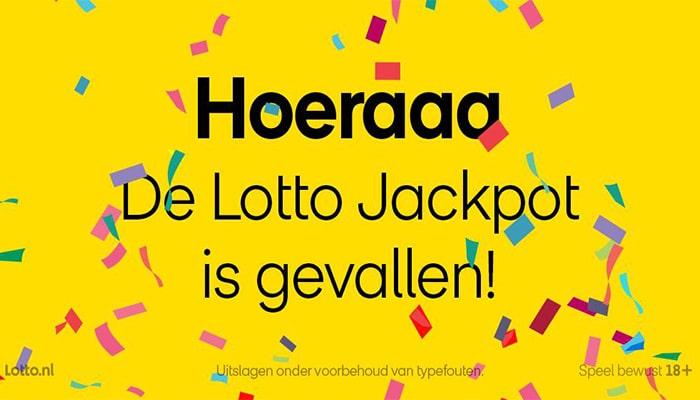 Lotto Jackpot melding