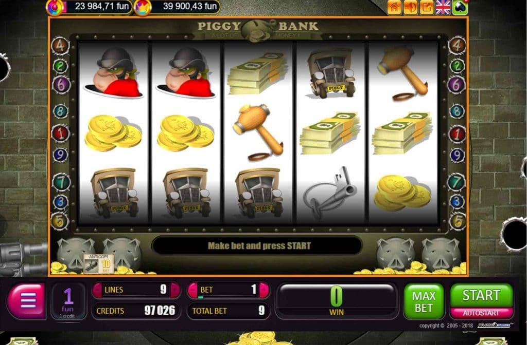 Piggy Bank Gameplay