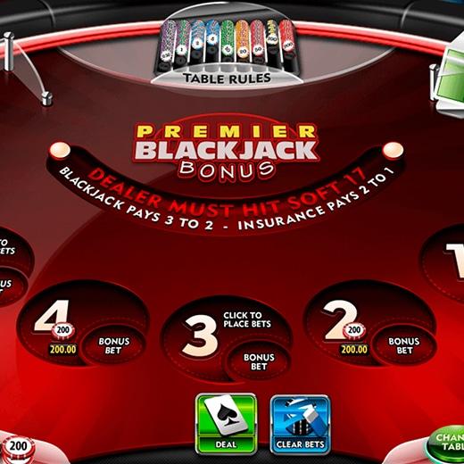 Premier Bonus Blackjack