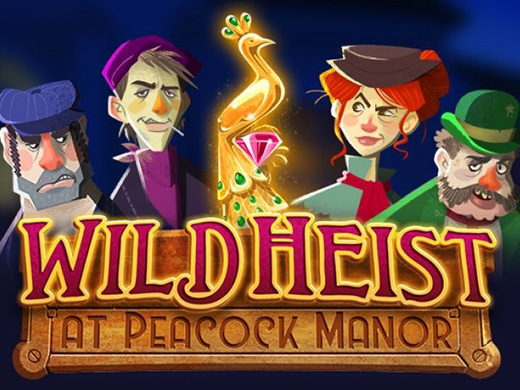 Wild Heist At Peacock Manor logo1