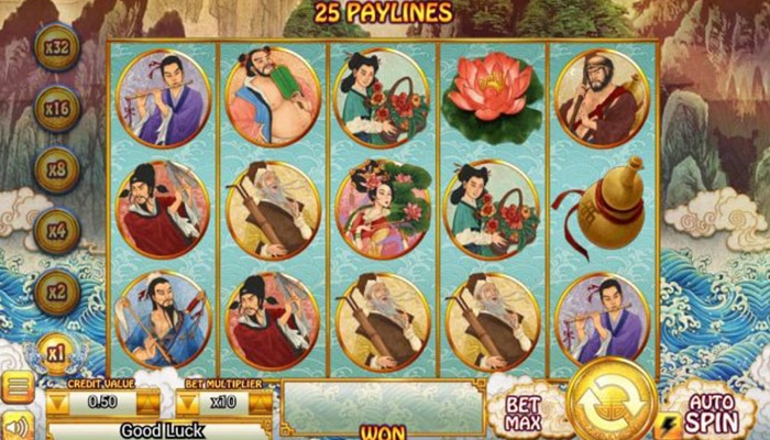 8 Immortals Gameplay