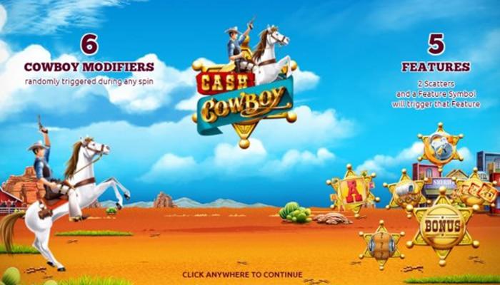 Cash Cowboy neemt je mee naar het Wilde Westen