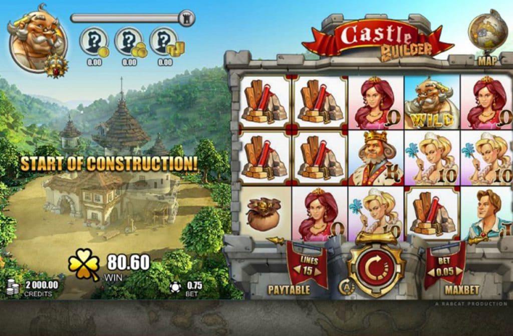 Het bouwen van kastelen levert geld op