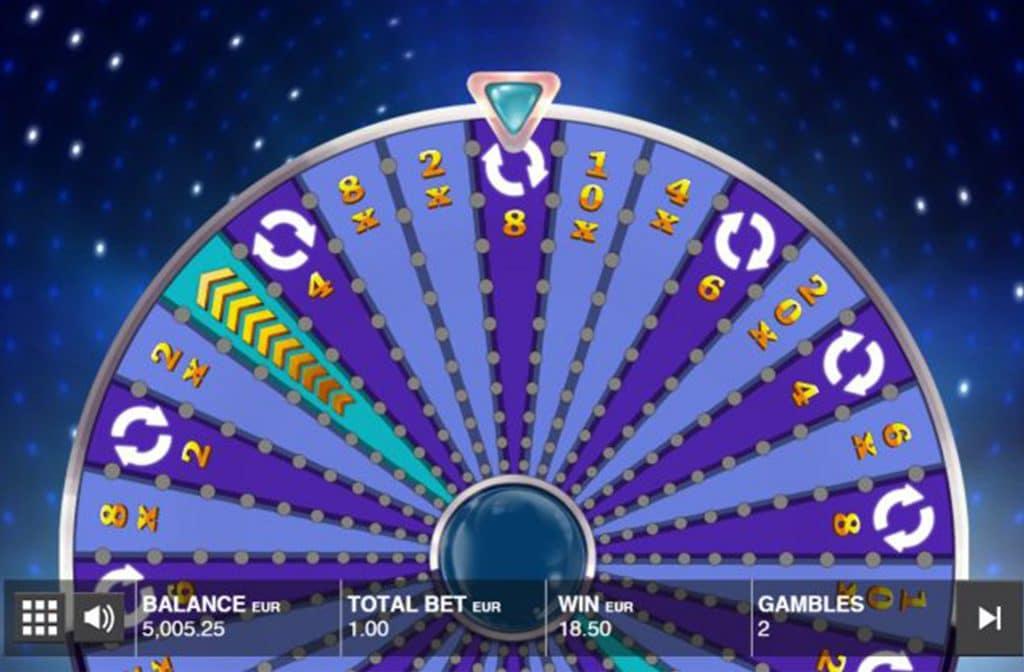 Draaien aan het wiel bij Wild Wheel Big Money