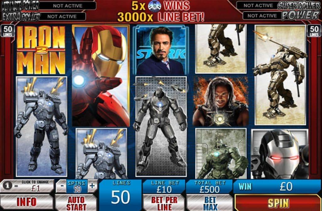 Iron Man 2 met John Stark