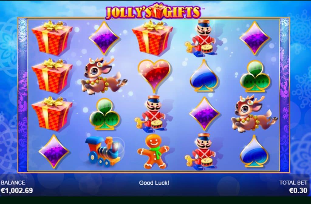 Jolly's Gifts draait om kerst en de daarbij behorende cadeaus