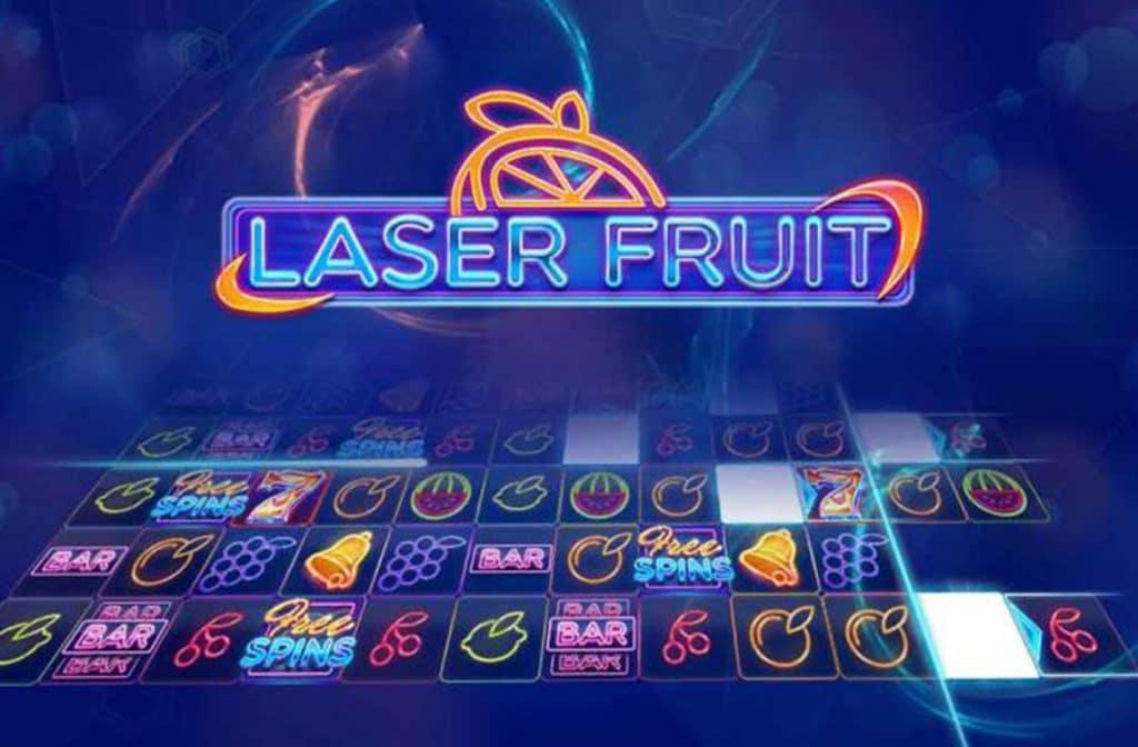 Laser Fruit heeft veel ouderwetse fruitsymbolen
