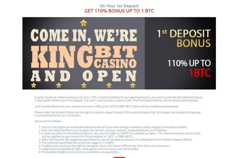 Maak gebruik van de Deposit Bonus