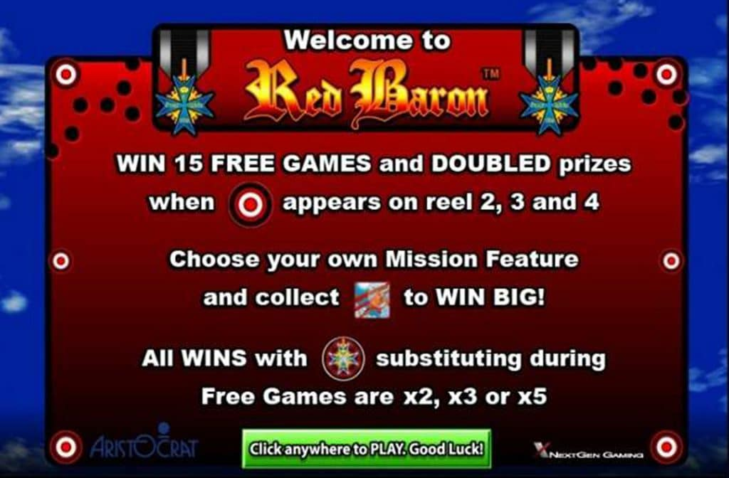 Medailles zijn multipliers bij Red Baron