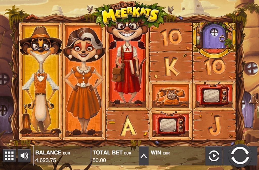 Meet the Meerkats gameplay