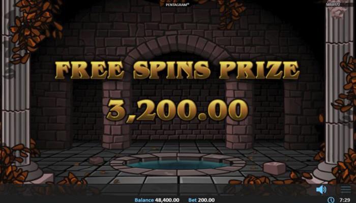 Mooie bedragen zijn te winnen met de free spins