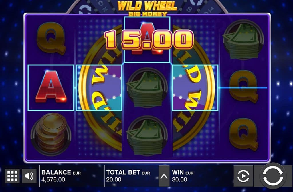Wild Wheel Big Money Gameplay