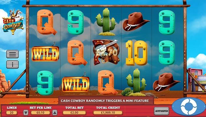 Wilds zijn goed bij Cash Cowboy