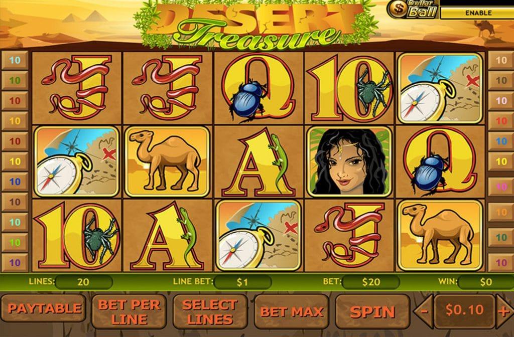 Desert Treasure Gameplay